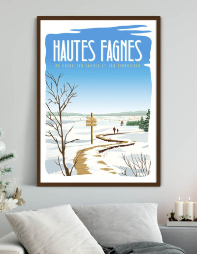 Affiche Les Hautes Fagnes