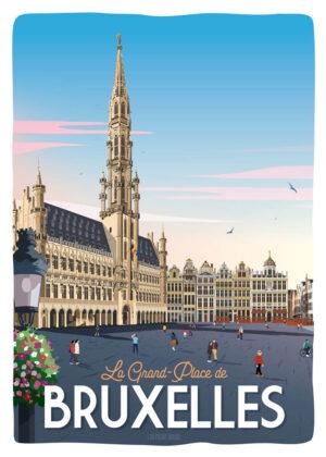 Affiche Bruxelles